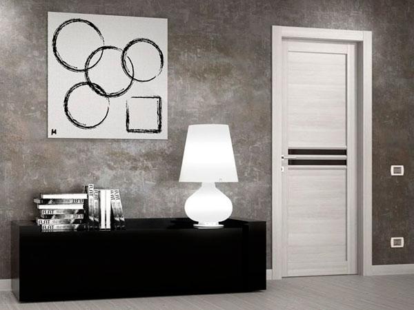 белые двери дизайн интерьера