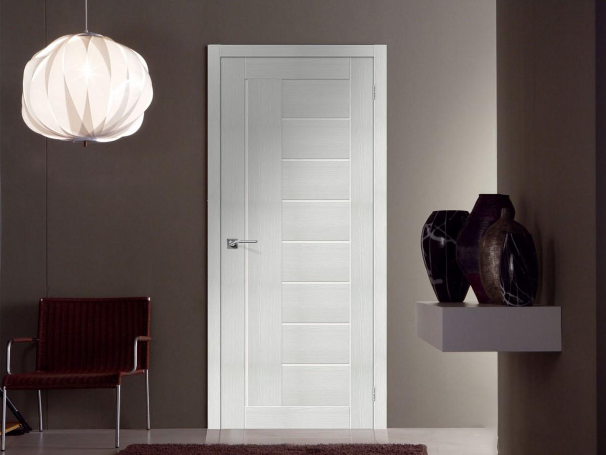 двери цвета Bianco veralinga