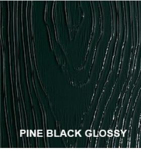 Pine black glossy