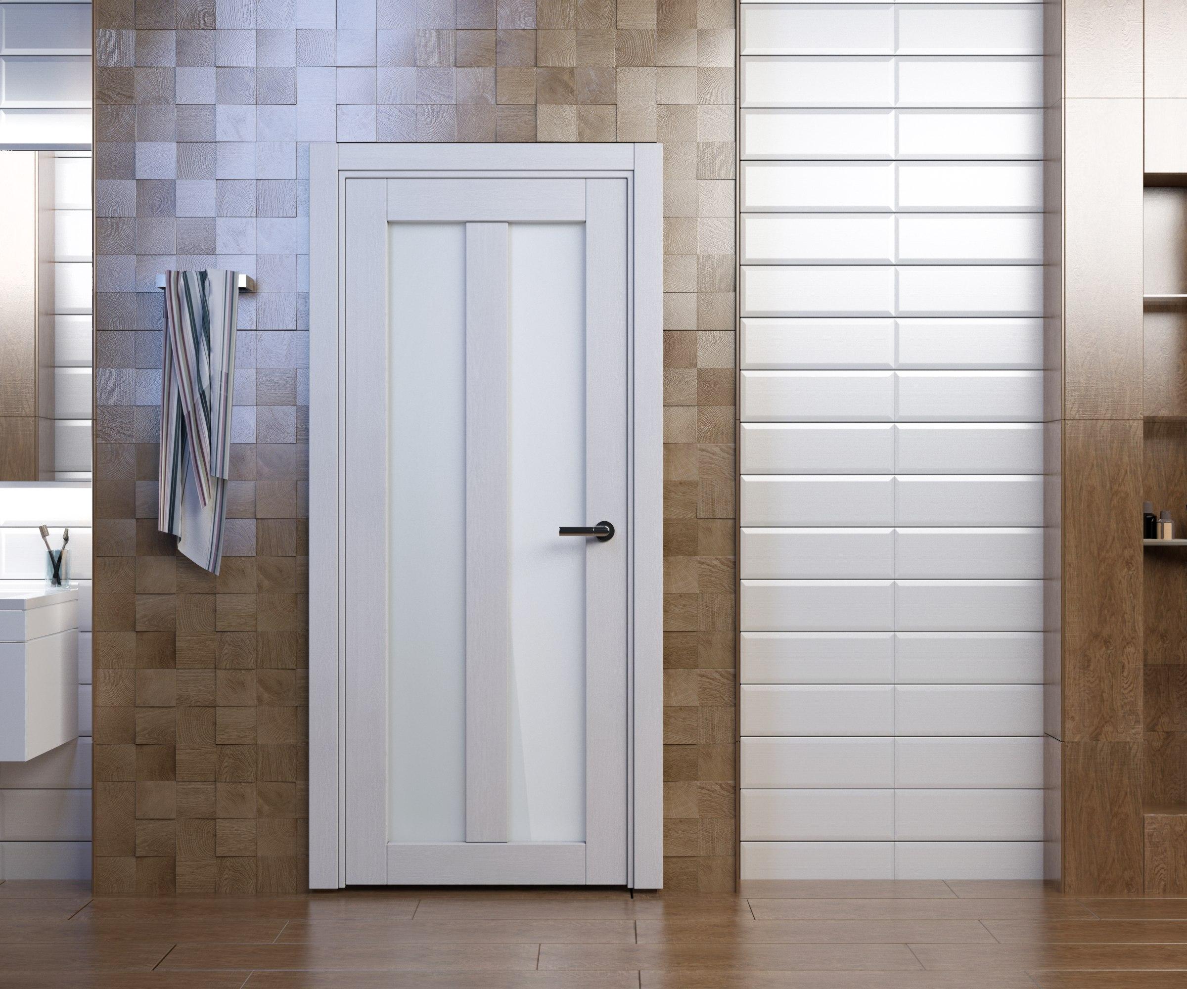 двери цвета Snow veralinga