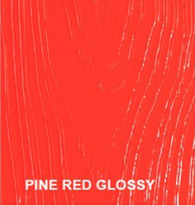 pine red glossy