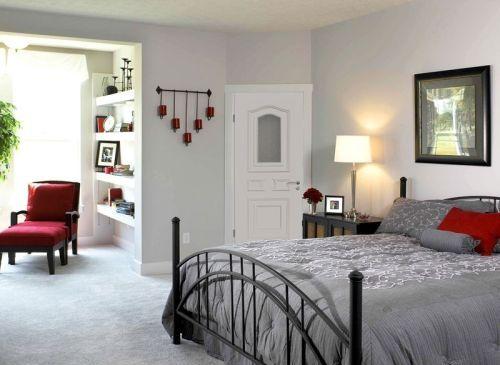 шпонированные двери в спальню