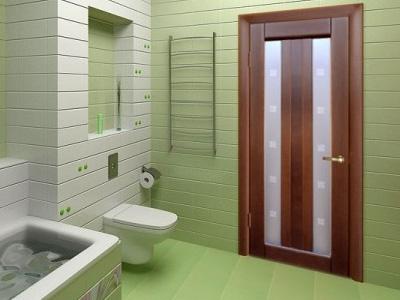 Дверь для ванной фото