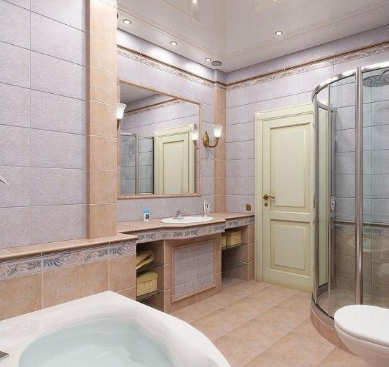 Двери в ванну или туалет разного размера