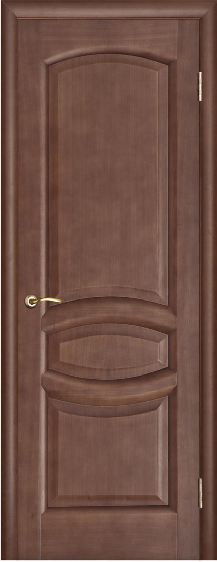 Межкомнатная дверь темный анегри
