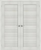 Фото -   Двойная распашная дверь Порта-22 Bianco Veralinga     фото в интерьере