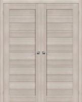 Фото -   Двойная распашная дверь Порта-21 Cappuccino Veralinga     фото в интерьере
