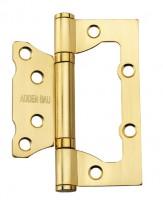 Фото -   Петля ADDEN BAU с 2-мя подшипниками, BUT SATIN GOLD (Матовое золото)   | фото в интерьере