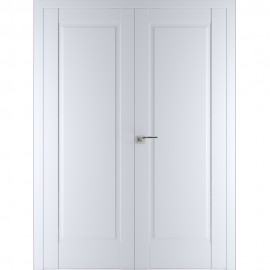Фото -   Двустворчатая дверь 100U, аляска     фото в интерьере