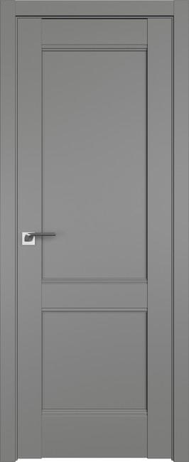 Фото -   Межкомнатная дверь 108U, грей   | фото в интерьере