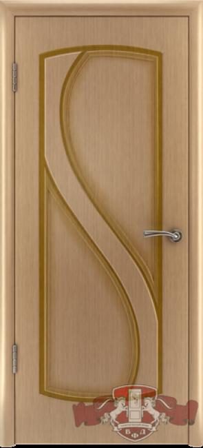 "Межкомнатная дверь ""Грация"", пг, дуб светлый"