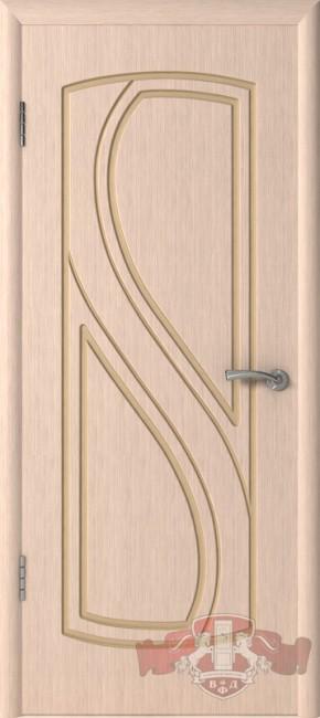 """Фото -   Межкомнатная дверь """"Грация"""", пг, беленый дуб     фото в интерьере"""