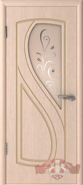 "Межкомнатная дверь ""Грация"", по, беленый дуб"