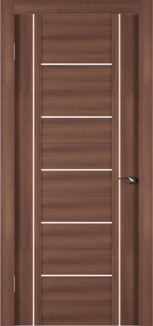 Фото -   Межкомнатная дверь Zadoor ПО ECO 11 Орех     фото в интерьере