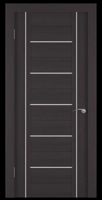 Фото -   Межкомнатная дверь Zadoor ПО ECO 11 Венге     фото в интерьере