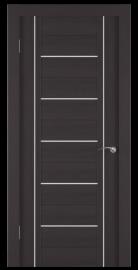 Фото -   Межкомнатная дверь Zadoor ПО ECO 11 Венге   | фото в интерьере