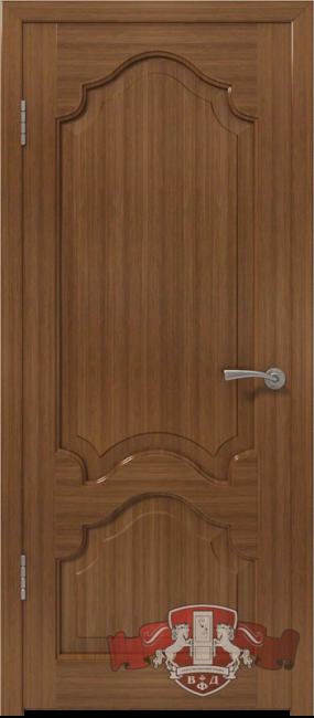 """Фото -   Межкомнатная дверь """"Венеция"""", пг, орех     фото в интерьере"""