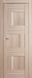 """Межкомнатная дверь """"12X"""", пг, капучино мелинга"""