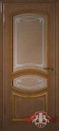 """Межкомнатная дверь """"Версаль"""", по, орех"""