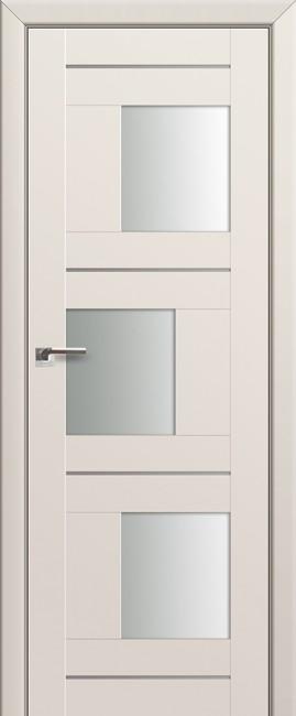 Фото -   Межкомнатная дверь 13U, магнолия сатинат   | фото в интерьере