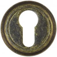Фото -   Накладка на цилиндр Vantage, ET03BR состаренная бронза     фото в интерьере