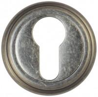 Фото -   Накладка на цилиндр Vantage, ET03AS состаренное серебро     фото в интерьере