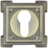 Фото -   Накладка на цилиндр Vantage, ET15M матовая бронза   | фото в интерьере