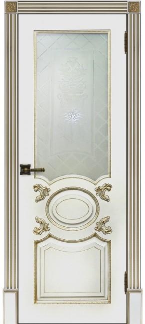 """Межкомнатная дверь """"Аристократ"""", по, белая"""
