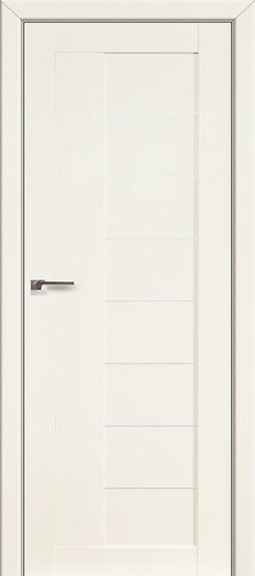 Фото -   Межкомнатная дверь 17L,  магнолия люкс   | фото в интерьере