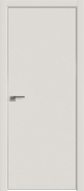 "Фото -   Межкомнатная дверь ""1 Е"", Дарквайт, кромка 4 стор. ABS, Eclipse   | фото в интерьере"