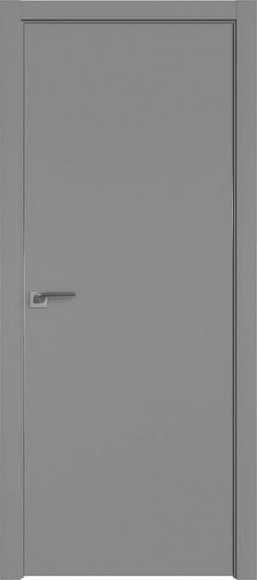 "Фото -   Межкомнатная дверь ""1 Е"", Манхеттен, кромка 4 стор. ABS   | фото в интерьере"