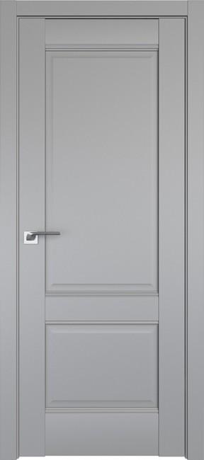 Фото -   Межкомнатная дверь 1U, манхэттен   | фото в интерьере