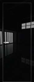 """Межкомнатная дверь """"1VG"""", пг, черный глянец, кромка ABS"""