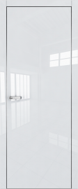 """Межкомнатная дверь """"1VG"""", пг, белый глянец, кромка ABS"""