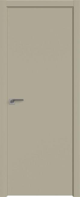 "Межкомнатная дверь ""1 Е"", Шеллгрей, кромка 4 стор. ABS"