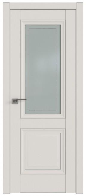 Фото -   Межкомнатная дверь 2.113U, ДаркВайт   | фото в интерьере