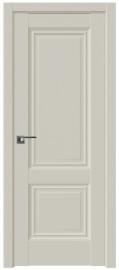 Фото -   Межкомнатная дверь 2.36U, магнолия сатинат   | фото в интерьере