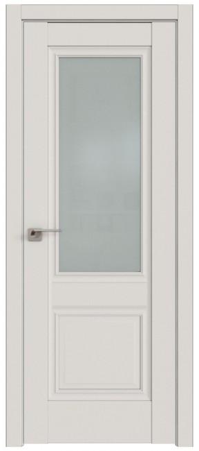 Фото -   Межкомнатная дверь 2.37U, Дарквайт, ст. матово   | фото в интерьере