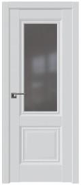 Фото -   Межкомнатная дверь 2.37U, аляска, ст. графит   | фото в интерьере