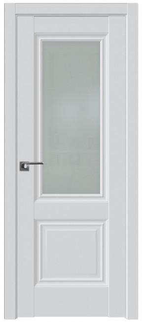 Фото -   Межкомнатная дверь 2.37U, аляска, ст. матовое   | фото в интерьере
