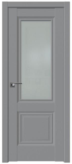 Фото -   Межкомнатная дверь 2.37U, манхеттен   | фото в интерьере