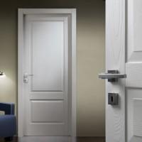 Двери белые крашенные