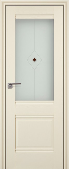 """Фото -   Межкомнатная дверь """"2х"""", по, эш вайт     фото в интерьере"""