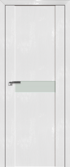 Фото -   Межкомнатная дверь 2.06STP, Pine White glossy   | фото в интерьере
