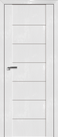 Фото -   Межкомнатная дверь 2.07STP, пг, Pine White glossy   | фото в интерьере