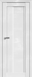Фото -   Межкомнатная дверь 2.08STP, Pine White glossy   | фото в интерьере