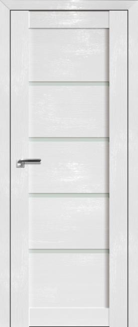 Фото -   Межкомнатная дверь 2.09STP, Pine White glossy   | фото в интерьере