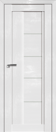Фото -   Межкомнатная дверь 2.10STP, Pine White glossy   | фото в интерьере