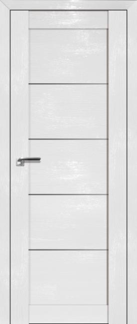 Фото -   Межкомнатная дверь 2.11STP, Pine White glossy   | фото в интерьере