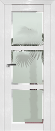 Фото -   Межкомнатная дверь 2.13STP, Pine White glossy   | фото в интерьере